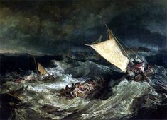 Joseph Mallord William Turner - El naufragio -1805- leo