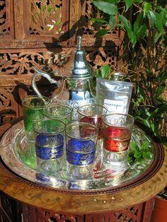 Luxury Moroccan tea set 1. http://www.maroque.co.uk/showitem.aspx?id=ENT01495&p=00741