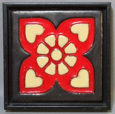 Arts and Crafts Tile by Mosaic in a Frame