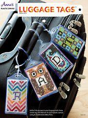Needlework Plastic Canvas - Luggage Tags™ - #888128