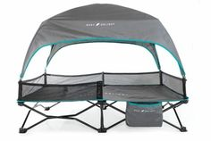 Baby Delight Go with Me Bungalow Deluxe Portable Travel Cot | Best Tent Cots for Camping Camping Items, Tent Camping, Folding Canopy, Tent Cot, Best And Less, Travel Cot, Go With Me, Cool Tents, Cots