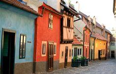 So close to the stars - Prague - Czech stories Golden Lane, Prague