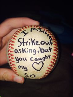 how to be asked out by a baseball player..