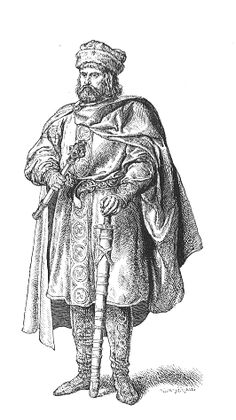 Siemomysł - was the third pagan Polans duke of the Piast dynasty, and the father of Poland's first historical ruler, Mieszko I