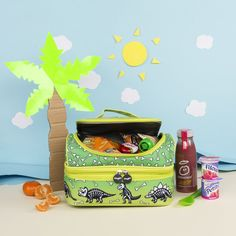 Make sure your little dinosaur fans and budding archeologists are well-fed on their expeditions, with one of our dinosaur fossil lunch bags!  Shop our range of dinosaur accessories and more at fringoo.co.uk Dinosaur Gifts, Dinosaur Fossils, Lunch Bags, Dinosaurs, Gifts For Kids, Fans, Presents, Shop, How To Make