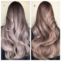 Silver and Violet Metallics with Guy Tang Favorite @kenra