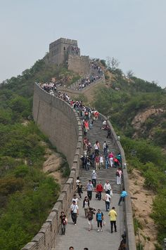 Great Wall of China by JLim02, via Flickr. My husband was there last year!!