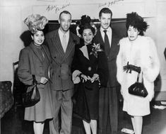 L'Tanya Griffin is pictured in the center. To her right is jazz singer, Herb Jeffries.