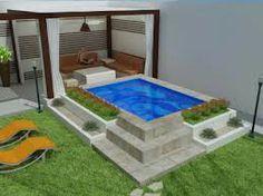 6 Small Backyard Ideas with a Pool - Des Home Design Swiming Pool, Small Swimming Pools, Small Backyard Pools, Small Pools, Backyard Landscaping, Ideas De Piscina, Piscina Spa, Outdoor Baths, Outdoor Fun