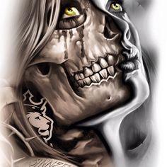Half skull #ogabel