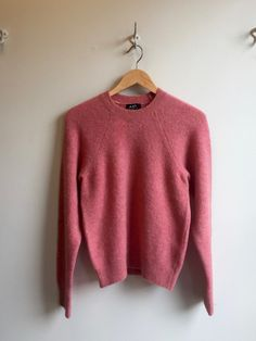 APC Wendy Sweater in Faded Rose | Eugene Choo