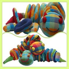 Another item that has come back in stock are the Witchetty Grub A great activity for: threading through the circular rings to create his… Threading, Barefoot, Baby Shower Gifts, Dinosaur Stuffed Animal, Activities, Create, Toys, Children, Rings