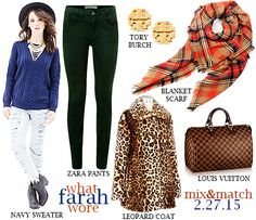 Rustic Chic: What Farah Wore 2.27.15