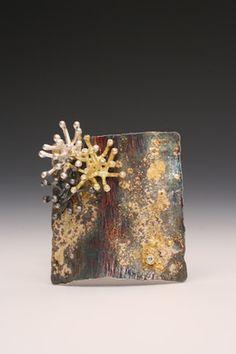 Spring Journal Idea for surface of medal box. Boho Jewelry, Jewelry Art, Jewelery, Fashion Jewelry, Women Jewelry, Jewelry Design, Contemporary Jewellery, Contemporary Artists, Unusual Jewelry