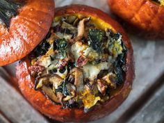 Thanksgiving Stuffed Roast Pumpkins Recipe | Serious Eats