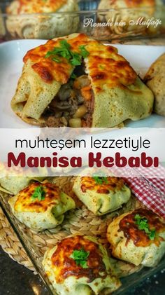 Manisa Kebab with Magnificent Flavor - Yummy Recipes tu .- Manisa Kebab with Magnificent Flavor – Yummy Recipes turkishfoodsrecip … - Yummy Recipes, Lunch Recipes, Healthy Dinner Recipes, Diet Recipes, Breakfast Recipes, Cooking Recipes, Yummy Food, Turkish Recipes, Mexican Food Recipes