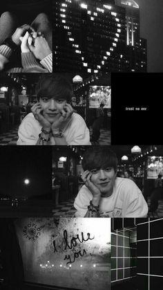 I love you pcy Exo Chanyeol, Kpop Exo, K Wallpaper, Tumblr Wallpaper, K Pop, Exo Lockscreen, Chanbaek, Kpop Aesthetic, Boyfriend Material