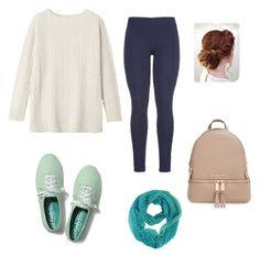 """""""Casual Day 3"""" by kassiebartz ❤ liked on Polyvore featuring Toast, maurices, Keds and MICHAEL Michael Kors"""