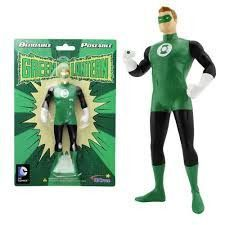 Classic Green Lantern Bendable Action figure~Justice League