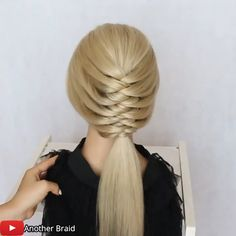 Hairstyle for wedding! By: @Another Braid on Youtube