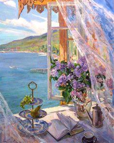 60 Ideas Fine Art Painting Oil Still Life Artists Aesthetic Painting, Aesthetic Art, Arte Inspo, Window Art, Classical Art, Fine Art, Pretty Art, Beautiful Paintings, Vintage Art