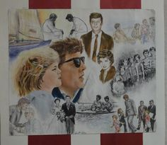 JFK Inspired Art Works From Barnstable High School Students!