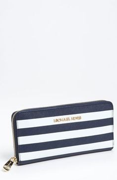 Must have MK wallet.  Love.  Obsessed.  #nautical