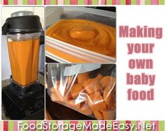 Saving Money: How To Make Baby Food  {{this was a life-saver for me with my last two kids.  LOVE homemade baby food!}}