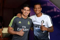 James Rodríguez & Freddy Guarín - Colombia - Real Madrid vs Inter de Milan