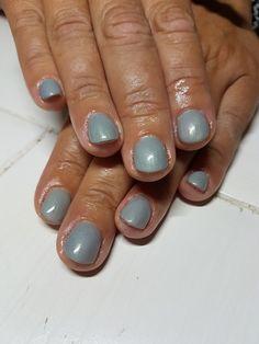 acryls nagels met gelposh in de kleur stone washed