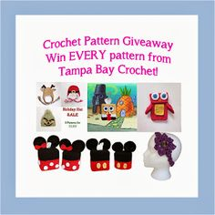 Tampa Bay Crochet: Win It All #Giveaway - Enter to win every crochet pattern currently for sale from Tampa Bay Crochet