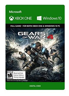 #7: Gears of War 4: Standard Edition - Xbox One/Windows 10 Digital Code