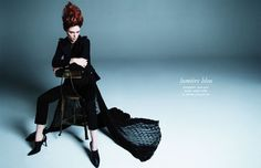 Lumiere Bleu by Rayan Ayash for Schon! 22 #CocoRocha #photography