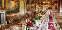 Goodwood House - christmas wedding - flowers by Spriggs Florist