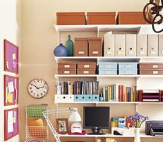 Your office can't spread out? Then go up: Make smart use of vertical wall space.