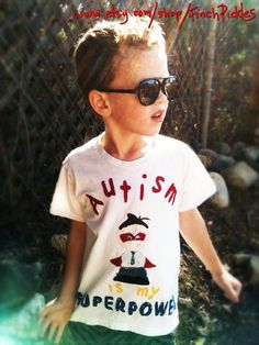 Cool Autism shirt for those extra special little peeps.. Like my guy here. ;)