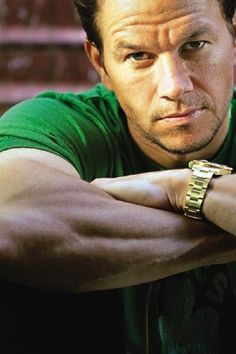 Mark Wahlberg Sometimes I like him more than others.,