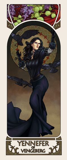 Yennefer of Vengeberg by hvitkanen.deviantart.com on @DeviantArt
