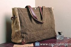 Two color Genuine Cow Leather Men's leather bag canvas Bag/ leather canvas Briefcase / Messenger bag / Laptop bag Mens Leather Satchel, Leather Laptop Bag, Leather Satchel Handbags, Leather Bag, Cow Leather, Mens Canvas Messenger Bag, Canvas Laptop Bag, Canvas Shoulder Bag, Canvas Leather
