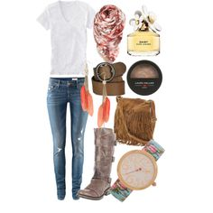 Boho Chic Outfit for spring and fall