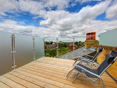 Elmfield Road Project Loft Conversion Extension, London Boroughs, Terms And Conditions, Glass Balustrade, Sun Lounger, Greater London, South London, Great View, Outdoor Decor