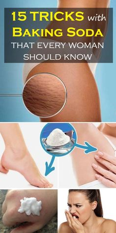 Every Woman Should Know These 15 Tricks With Baking Soda - Ladies Hub Razor Burn Remedies, Personal Hygiene, Personal Care, Razor Burns, Baking Soda Uses, Natural Health Remedies, Beauty Hacks, Beauty Tips, Every Woman