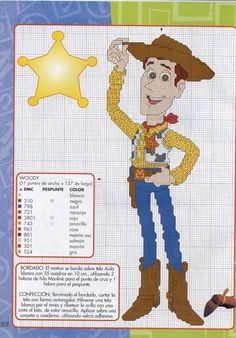 Woody Cross Stitch