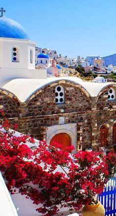 Villa in Oia-Santorini, Greece