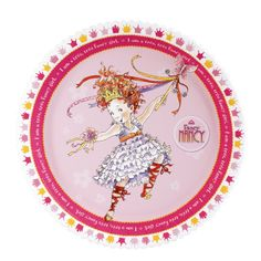 Fancy nancy party plates