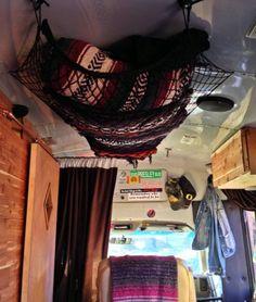blanket storage hammock More