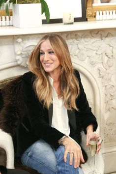 Sarah Jessica Parker. See all the other celebs on the June party scene.