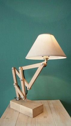 Items similar to AKORTEON accordion light extended lovenlight wood lamp lampshade abajur on Etsy Diy Luz, Bois Diy, Wooden Lamp, Lampshades, Wood Design, Wood Furniture, Furniture Plans, System Furniture, Lamp Light