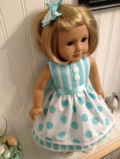 American Girl Doll Clothes  Easter/Spring by NanaDorysCreations