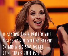 Charlotte Church.   29 Celebrities Who Will Actually Make You Feel Good About Your Body